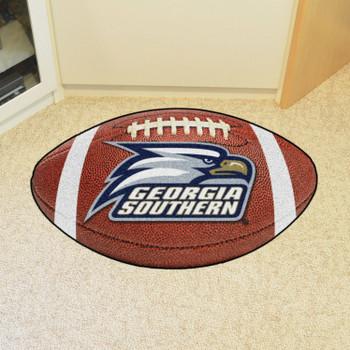 "20.5"" x 32.5"" Georgia Southern University Football Shape Mat"