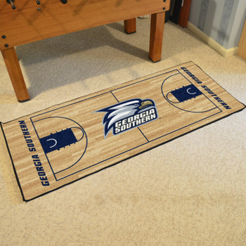 "30"" x 72"" Georgia Southern University NCAA Basketball Rectangle Runner Mat"