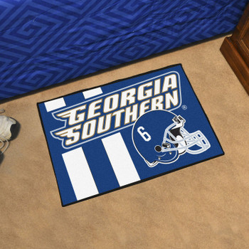 "19"" x 30"" Georgia Southern University Uniform Blue Rectangle Starter Mat"
