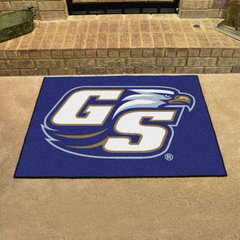 "33.75"" x 42.5"" Georgia Southern University All Star Blue Rectangle Mat"