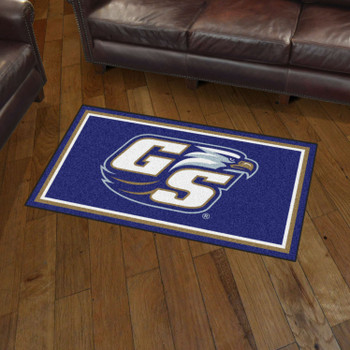 3' x 5' Georgia Southern University Blue Rectangle Rug