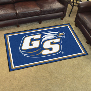 4' x 6' Georgia Southern University Blue Rectangle Rug