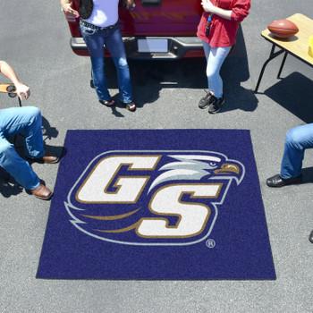 "59.5"" x 71"" Georgia Southern University Blue Tailgater Mat"