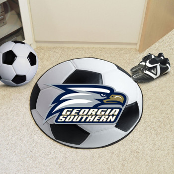 "27"" Georgia Southern University Soccer Ball Round Mat"