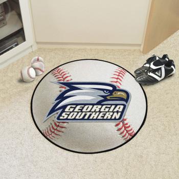 """27"""" Georgia Southern University Baseball Style Round Mat"""