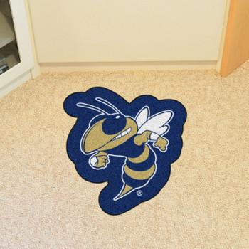 "Georgia Tech Mascot Mat - ""Buzz Logo"""