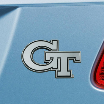 Georgia Tech Chrome Emblem, Set of 2