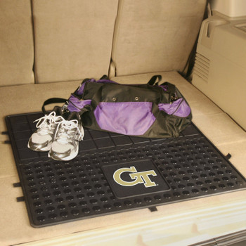 "31"" Georgia Tech Heavy Duty Vinyl Cargo Trunk Mat"