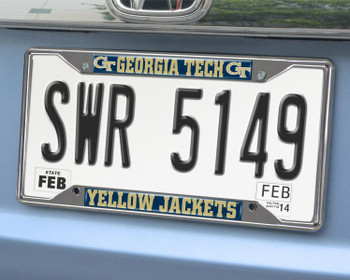 Georgia Tech License Plate Frame