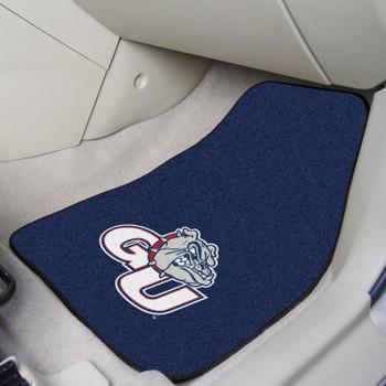 Gonzaga University Blue Carpet Car Mat, Set of 2