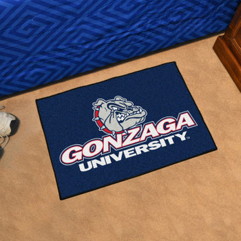 "19"" x 30"" Gonzaga University Bulldogs Red Rectangle Starter Mat"