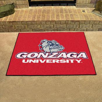 "33.75"" x 42.5"" Gonzaga University All Star Red Rectangle Mat"
