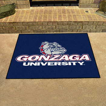 "33.75"" x 42.5"" Gonzaga University All Star Blue Rectangle Mat"