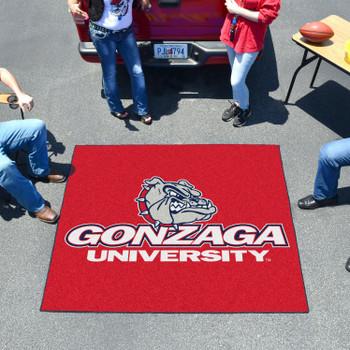 "59.5"" x 71"" Gonzaga University Red Tailgater Mat"