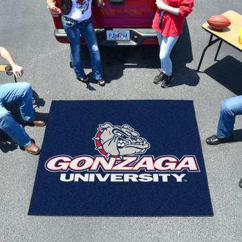 "59.5"" x 71"" Gonzaga University Blue Tailgater Mat"
