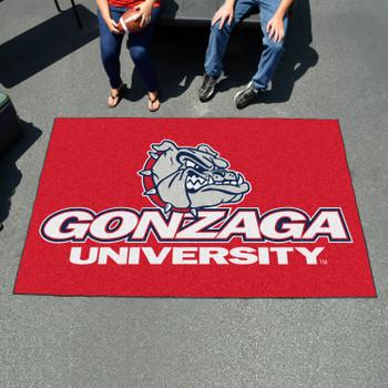"59.5"" x 94.5"" Gonzaga University Red Rectangle Ulti Mat"