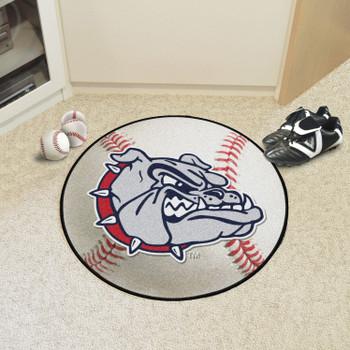 "27"" Gonzaga University Baseball Style Round Mat"