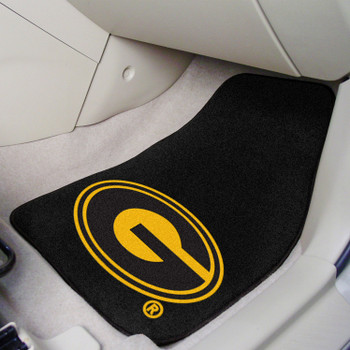 Grambling State University Black Carpet Car Mat, Set of 2