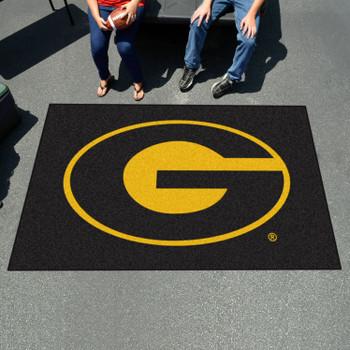 "59.5"" x 94.5"" Grambling State University Black Rectangle Ulti Mat"
