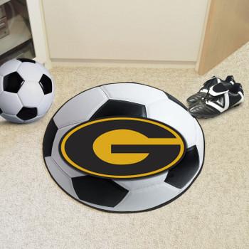 "27"" Grambling State University Soccer Ball Round Mat"
