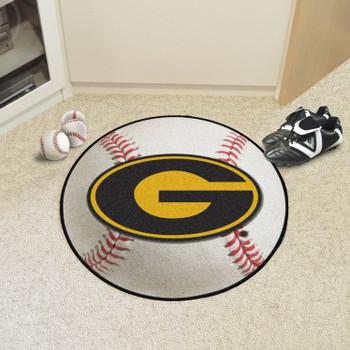 """27"""" Grambling State University Baseball Style Round Mat"""
