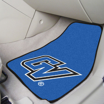 Grand Valley State University Blue Carpet Car Mat, Set of 2