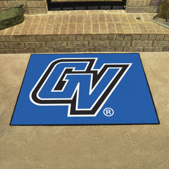 "33.75"" x 42.5"" Grand Valley State University All Star Blue Rectangle Mat"