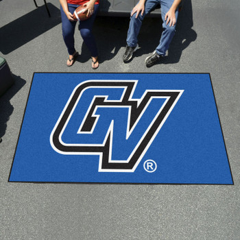 "59.5"" x 94.5"" Grand Valley State University Blue Rectangle Ulti Mat"