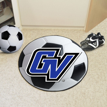 "27"" Grand Valley State University Soccer Ball Round Mat"