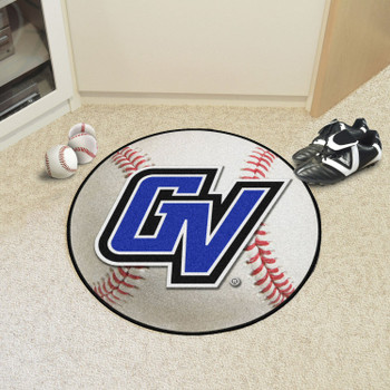"27"" Grand Valley State University Baseball Style Round Mat"
