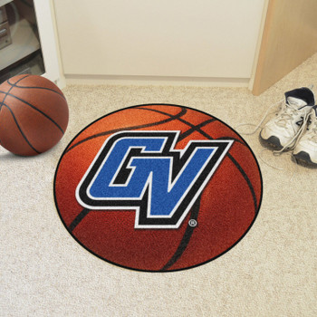 "27"" Grand Valley State University Basketball Style Round Mat"