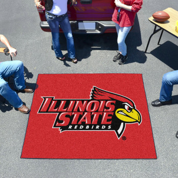 "59.5"" x 71"" Illinois State University Red Tailgater Mat"