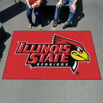 "59.5"" x 94.5"" Illinois State University Red Rectangle Ulti Mat"