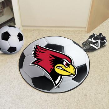 "27"" Illinois State University Soccer Ball Round Mat"