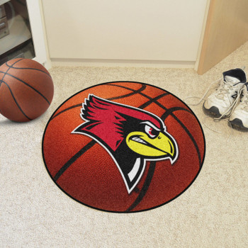 "27"" Illinois State University Basketball Style Round Mat"