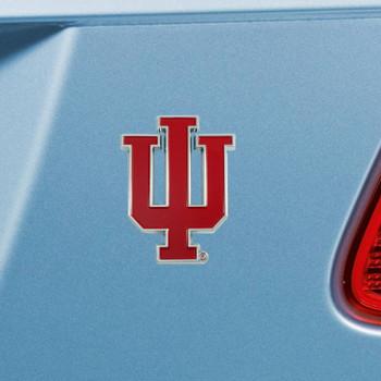 Indiana University Red Color Emblem, Set of 2