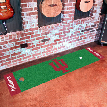 "18"" x 72"" Indiana University Putting Green Runner Mat"
