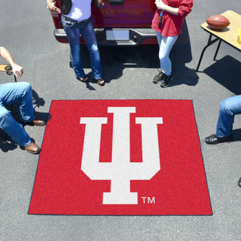 "59.5"" x 71"" Indiana University Red Tailgater Mat"