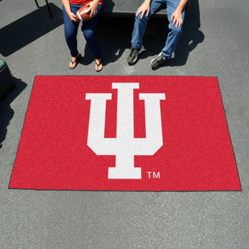 "59.5"" x 94.5"" Indiana University Red Rectangle Ulti Mat"