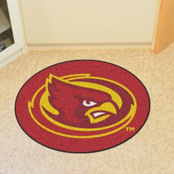 """Iowa State University Mascot Mat - """"Cardinal"""" Logo"""