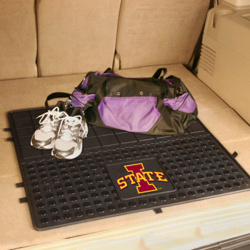 "31"" Iowa State University Heavy Duty Vinyl Cargo Trunk Mat"