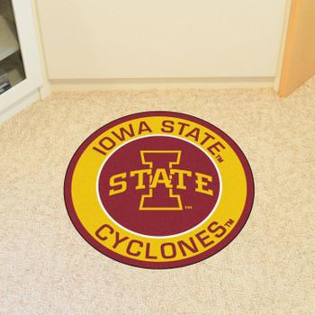 """27"""" Iowa State University Roundel Round Mat"""