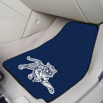Jackson State University Carpet Car Mat, Set of 2