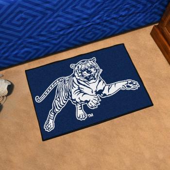 "19"" x 30"" Jackson State University Navy Blue Rectangle Starter Mat"