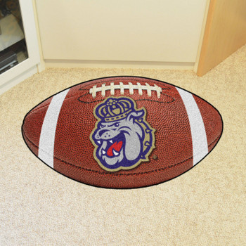 "20.5"" x 32.5"" James Madison University Football Shape Mat"