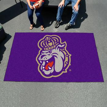"59.5"" x 94.5"" James Madison University Purple Rectangle Ulti Mat"