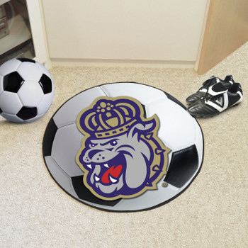 "27"" James Madison University Soccer Ball Round Mat"