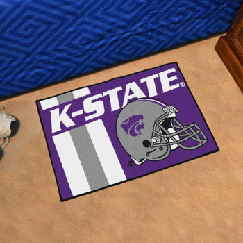 "19"" x 30"" Kansas State University Uniform Purple Rectangle Starter Mat"