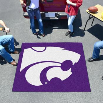 "59.5"" x 71"" Kansas State University Purple Tailgater Mat"