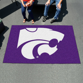 "59.5"" x 94.5"" Kansas State University Purple Rectangle Ulti Mat"